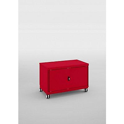 Bisley Rollcontainer Be Caddy mit Schiebetüren - HxBxT 536 x 800 x 440 mm