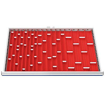 Muldenplatten 46-teilig für R 18-24 | Bedrunka & Hirth