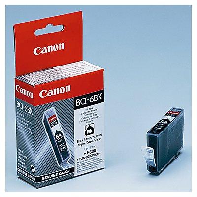 Canon Tintenpatrone BCI6BK 4705A002 13ml schwarz