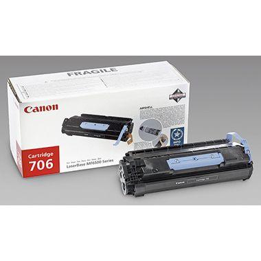 Canon Toner 706 0264B002 5.000Seiten schwarz