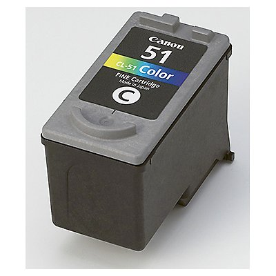 Canon Tintenpatrone CL51 0618B001 21ml c/m/y