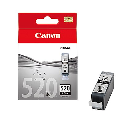 Canon Tintenpatrone PGI520BK 2932B012 schwarz 2 St./Pack.