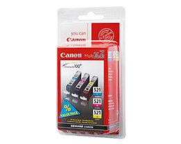 Canon Tintenpatrone CLI521 2934B010 c/m/y 3 St./Pack.