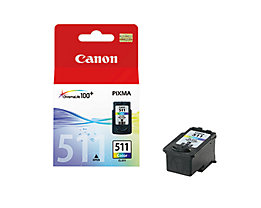 Canon Tintenpatrone CL511 2972B001 244Seiten 9ml c/m/y