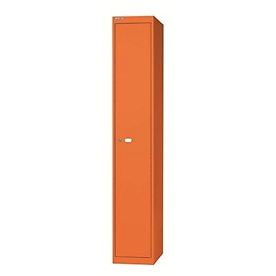 Bisley Garderobenschrank Office - 1 Abteil, 1 Fach mit Hutboden und fixiertem Kleiderhaken, Tiefe 305 mm