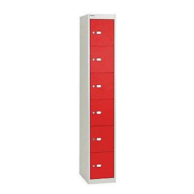 Bisley Système de casier verrouillable Office, profondeur 305 mm, 6 casiers