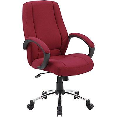 Komfort-Bürostuhl mit hoher Rückenlehne - gepolstert
