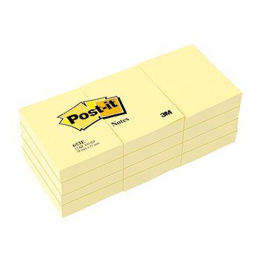 Post-it Haftnotiz Notes    gelb  St./Pack.