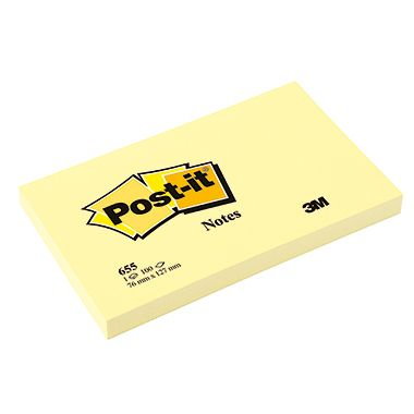 Post-it Haftnotiz Notes 100Blatt gelb
