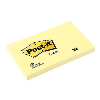 Post-it Haftnotiz Notes 100Blatt gelb
