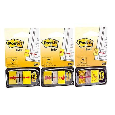Post-it Haftstreifen Index Symbol 680-31 25,4x43,2mm 50Blatt gelb
