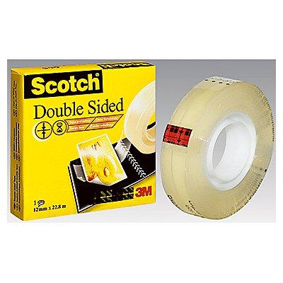 Scotch Klebefilm D6651222 12mmx22,8m beidseitig klebend