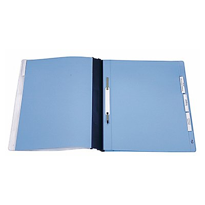 DURABLE Personalhefter 255506 DIN A4 Hartfolie blau