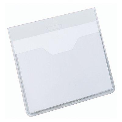 DURABLE Namenschild 813619 90x60mm transparent 20 St./Pack
