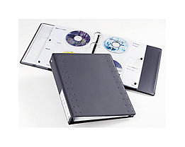 DURABLE CD/DVD Ringbuch INDEX 40 522758 27x6,5x31,5cm anthrazit