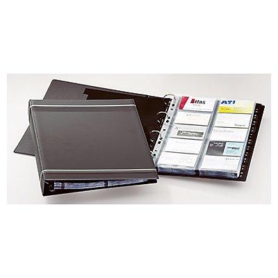 DURABLE Visitenkarten-Ringbuch VISIFIX 238858 max. 400Karten an