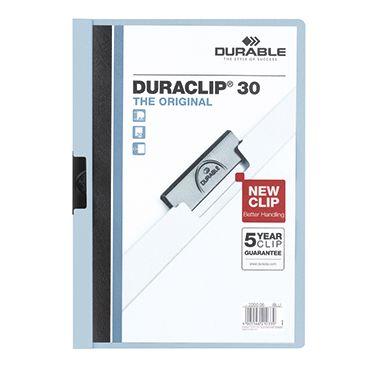DURABLE Klemmmappe DURACLIP 30 DIN A4 Polyethylen
