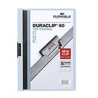 DURABLE Klemmmappe DURACLIP 60 DIN A4 Hartfolie