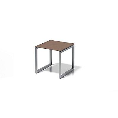 Bisley Schreibtisch Cito mit O-Gestell in Silber - HxBxT 740 x 800 x 800 mm