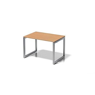Bisley Schreibtisch Cito mit O-Gestell in Silber - HxBxT 740 x 1200 x 800 mm