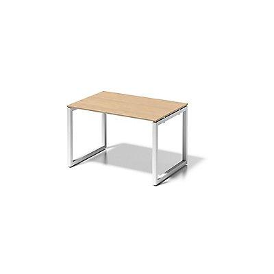 Bisley Schreibtisch Cito mit O-Gestell in Verkehrsweiß - HxBxT 740 x 1200 x 800 mm