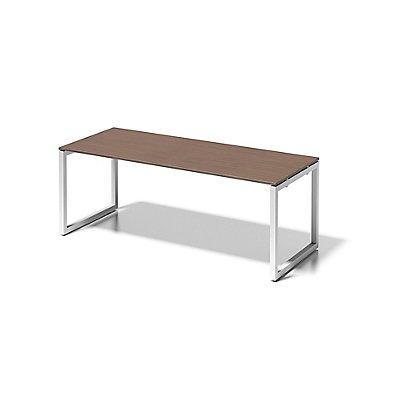 Bisley Schreibtisch Cito mit O-Gestell in Verkehrsweiß - HxBxT 740 x 2000 x 800 mm