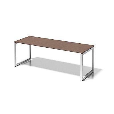 Bisley Schreibtisch Cito mit O-Gestell in Verkehrsweiß - HxBxT 740 x 2200 x 800 mm