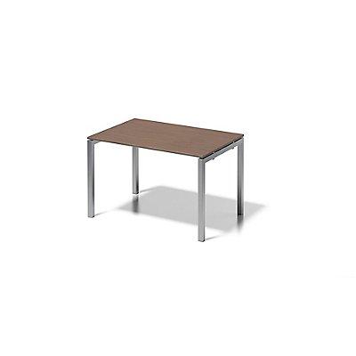 Bisley Schreibtisch Cito mit U-Gestell in Silber - HxBxT 740 x 1200 x 800 mm