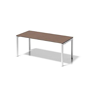 Bisley Schreibtisch Cito mit U-Gestell in Verkehrsweiß - HxBxT 740 x 1800 x 800 mm