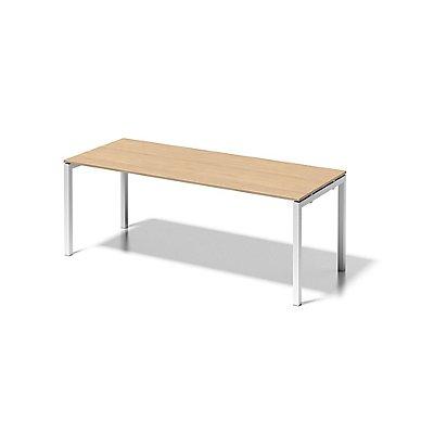 Bisley Schreibtisch Cito mit U-Gestell in Verkehrsweiß - HxBxT 740 x 2000 x 800 mm