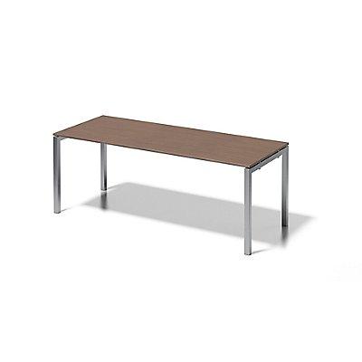 Bisley Schreibtisch Cito mit U-Gestell in Silber - HxBxT 740 x 2000 x 800 mm