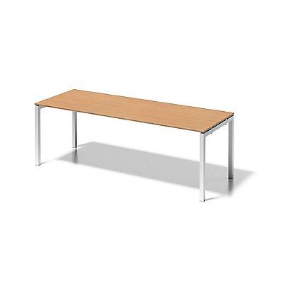 Bisley Schreibtisch Cito mit U-Gestell in Verkehrsweiß - HxBxT 740 x 2200 x 800 mm