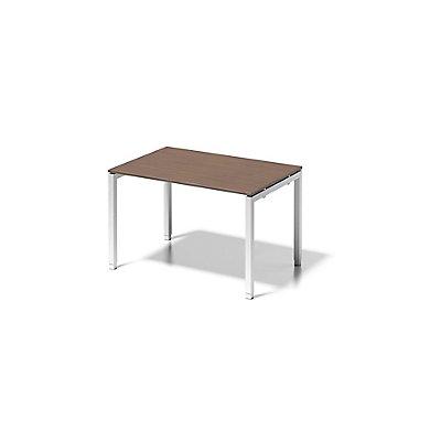 Bisley Schreibtisch Cito mit höhenverstellbarem U-Gestell in Verkehrsweiß - HxBxT 650-850 x 1200 x 800 mm
