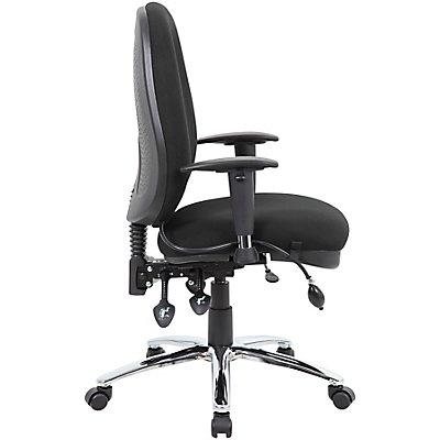 Operator-Bürodrehstuhl Deluxe - mit gepolstertem Sitz