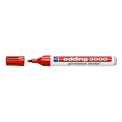 edding Permanentmarker 3000 1,5-3mm Rundspitze