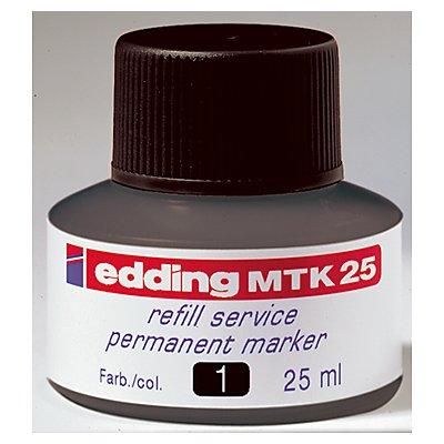 edding Nachfülltusche MTK 25 4-MTK25001 25ml schwarz