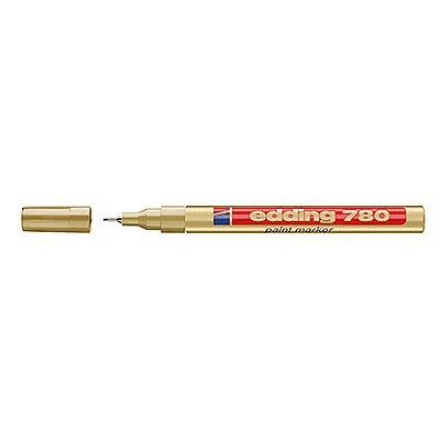 edding Lackmarker 780 4-780053 0,8mm Rundspitze permanent gold