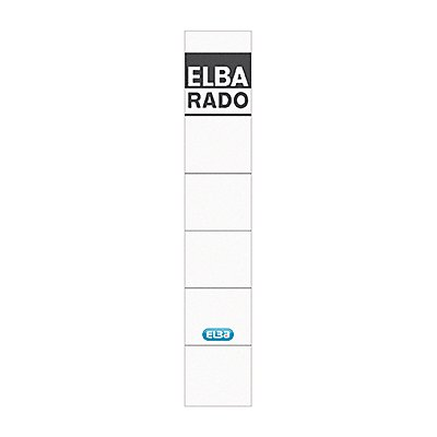ELBA Ordneretikett schmal/kurz sk 10 St./Pack.