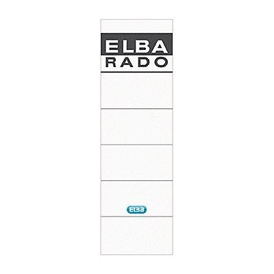 ELBA Ordneretikett breit/kurz sk St./Pack.
