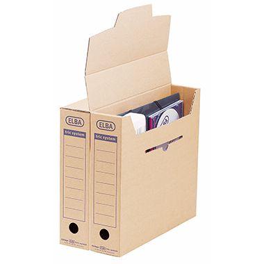 ELBA Archivbox tric System 83522BR für DIN A4 naturbraun