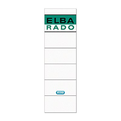 ELBA Ordneretikett  kurz/breit sk  10 St./Pack.