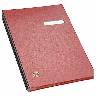 ELBA Unterschriftsmappe DIN A4 20Fächer PVC