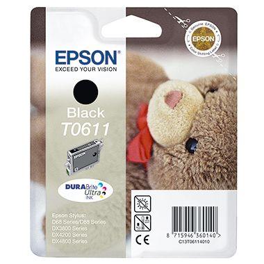 Epson Tintenpatrone C13T06114010 250Seiten 8ml schwarz