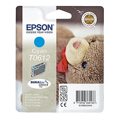 Epson Tintenpatrone C13T06124010 250Seiten 8ml cyan