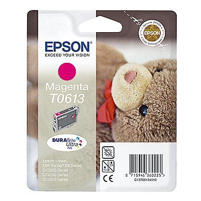 Epson Tintenpatrone C13T06134010 250Seiten 8ml magenta