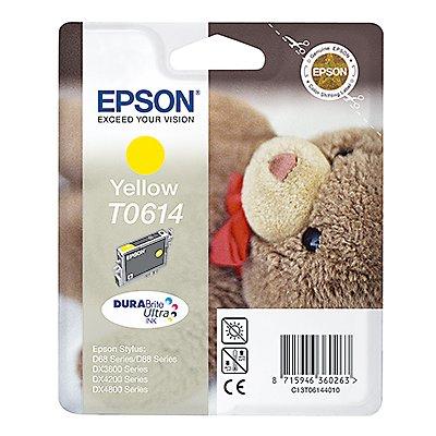 Epson Tintenpatrone C13T06144010 250Seiten 8ml gelb