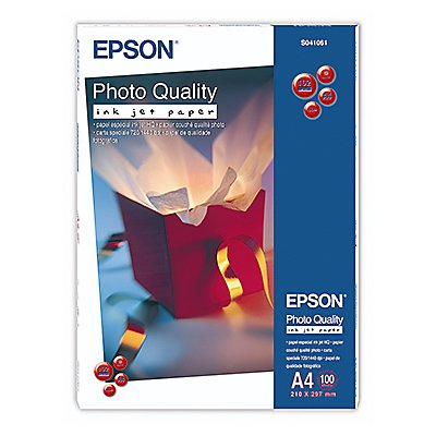 Epson Inkjetpapier Quality Ink Jet C13S041061 DIN A4 ws 100 Bl./Pack.