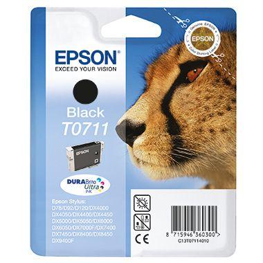 Epson Tintenpatrone C13T07114H10 schwarz 2 St./Pack.