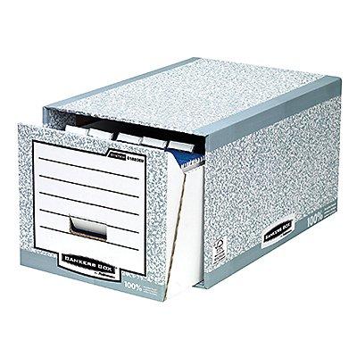 Fellowes Schubladenarchiv Bankers Box System 01820EU grau/weiß