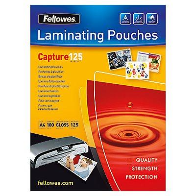 Fellowes Laminierfolie Capture 125 5307407 DIN A4 tr 100 St./Pack.